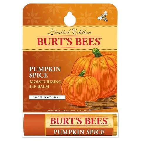 Burts bees pumpkin spice lip balm limited edition 8