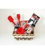 Joice Bakers Baking Kitchen gift Basket Bake ware Set - $39.55