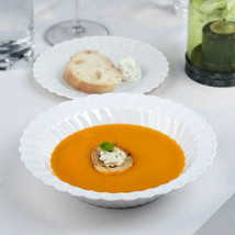 Plastic 12 Oz. White Round Soup Bowl/Case of 180 - €73,90 EUR