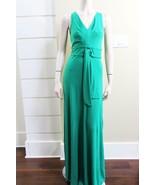 $298 NEW AUTH BCBG MAXAZRIA Sophia V Neck Draped Gown - $48.51