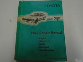 1986 Toyota Celica Supra Service Repair Shop Workshop Manual Feo Factory 1986 - $118.74