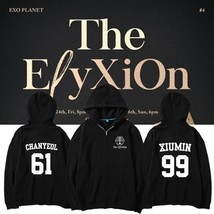KPOP EXO Hoodie The EℓyXiOn Sweater XIUMIN Pullover sweatershirt DOSEHUN... - $19.99