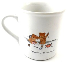 Hallmark Mug Mates BEARY BEST FRIENDS Coffee Cup Mug Friendship Teddy Be... - $5.99