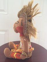 """Disney Lion King Broadway Musical SIMBA Bean Bag Plush 11"""" African Tribal image 3"""