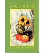 Salads Food Writer's Favorites Recipes Cookbook 1991 - $6.95