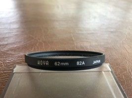 Used Hoya 82A 62mm Lens Filter Made in Japan - $17.82
