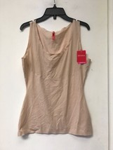 New Spanx Smoothing Tank Soft Nude SZ L $58 - $43.64