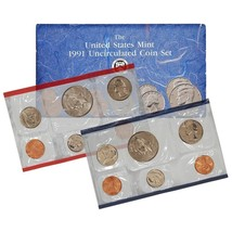 1991 P & D US Mint Set United States Original Government Packaging Box C... - £7.24 GBP