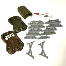 Military Barrier Model Accessories Lot Of 16 Vintage Revell - $28.22