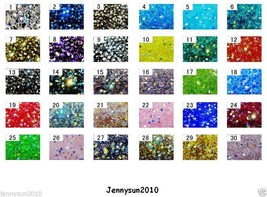 Freeshipping 100Pcs Top Quality Czech Crystal Faceted Bicone Beads 4mm A... - $3.25