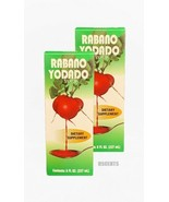 2 Pack Rabano Yodado Syrup Dietary Supplement Jarabe Contents 8 Fluid Ou... - $17.81