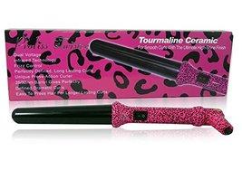 Proliss Authentic NIB Animal Twister Pink Leopard (Cheetah) 25mm Curling... - $62.08
