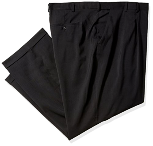Primary image for Van Heusen Men's Big and Tall Traveler Stretch Pleated Dress Pant Choose SZ/Colo