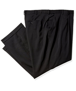 Van Heusen Men's Big and Tall Traveler Stretch Pleated Dress Pant Choose... - $51.47