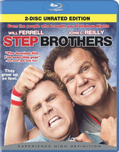 Step Brothers (Blu-ray/Rated/Unrated/2 Disc/Ws 2.40 A/Dd 5.1/Eng-Ko-Ch-Sub/Fr-Sp