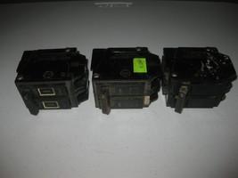 Lot of 3 General Electric GE Vintage Breakers - 30 40 & 60 Amps - $79.19