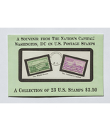 Washington DC on US Postage Stamps, 23 US Stamp... - $7.50