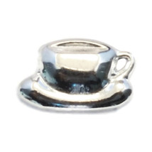 Coffee Cup Charm for Floating Locket (LCHM-128) - $0.99