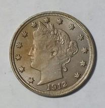 1912 V Nickel Liberty Head 5¢ Coin Lot# MZ 4715