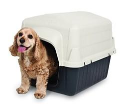 Petmate Barnhome III Dog House (15-25lbs|Bleached Linen/Black) - $61.24
