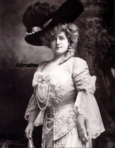 "VINTAGE PINUP PHOTO LILLIAN RUSSELL ""THE GREAT AMERICAN BEAUTY"" ACTRESS ... - $6.89"
