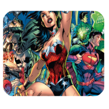 Mouse Pad Hot Comic New Justice League Of America Anime Heroes Movie For Gaming  - $9.00