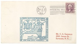 1932 Washington Bicentennial Final NY Assembly Session @ Federal Hall Co... - $2.99