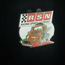 Disney Pin CARS RSN Tower Mater Truck RSN Racing Sports Network Cars 2 8... - $13.85