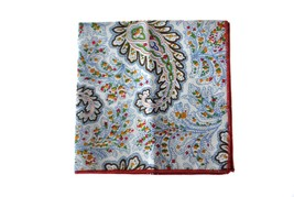 Frederick Thomas BIANCO & multicolore motivo cachemire