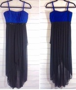 Enfocus Studio Royal Blue & Black Maxi Dress Size 6 EUC - $27.00