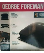 George Foreman - GRP3060B - 4-Serving Removable Plate Grill - Black - $74.20