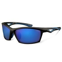 Polarized Designer Fashion Sports Sunglasses for Baseball Cycling Fishin... - $23.93