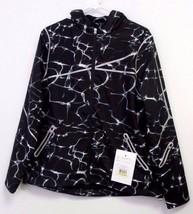 New Spyder Women's Ryze Windbreaker Shell Jacket - Size M - Waves Black ... - $128.60