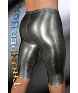 ThunderBox Nylon Spandex Chrome Gunmetal Jammer Shorts S, M, L, XL - $28.00