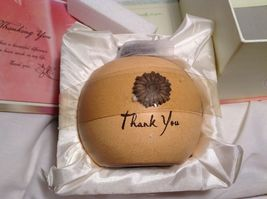 NEW Seagull Studios HeartWarmers 'Thank You' Candle & Holder image 6