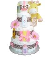 Sweet Safari Baby Diaper Cake - $160.00