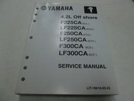 2011 Yamaha 4.2L Off Shore Service Réparation Atelier Manuel - $188.39