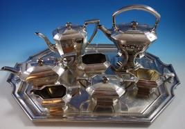 Colfax by Durgin-Gorham Sterling Silver Tea Set 8pc #C04 (#1501) - $8,545.73