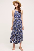 NWT ANTHROPOLOGIE AURETTA PRINTED SLIM MAXI DRESS by MAEVE M - $94.99