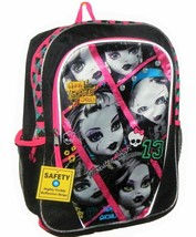 "MONSTER HIGH MATTEL 16"" Full-Size Backpack w/ Optional Insulated Lunch B... - $16.77+"