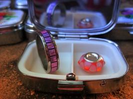 Haunted Angel/Djinn Hybrid Positive Energy Vibrations Ring Bead Recharging Box - $125.00