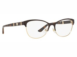 New Authentic Versace Eyeglasses VE 1233-Q 1344 Made In Italy 53mm MMM - $142.52