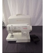 Singer Sewing Machine Model 3314C With Case Parts Repair  - $48.62