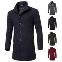 Jamickiki New Autumn&winter Fashion Men's Slim Jacket, Windbreaker, Over... - $62.02