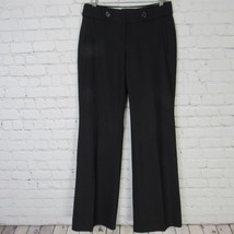 Banana Republic Pants Womens Size 2 Black Wool Blend Jackson Fit Career - $23.33