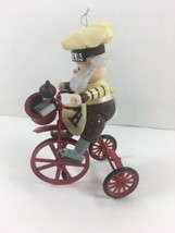 Kurt Adler Hershey's Elf on a Bicycle 1990's Ornament - $12.37