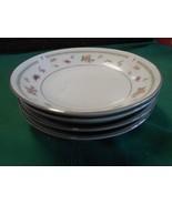 beautiful ABINGDON Fine Porcelain China Set of 4 BERRY BOWLS - $10.11