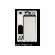*WhiBal G7 pocket-sized neutral white balance card (5.3cm x 8.5cm) - $41.48