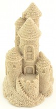 "Real Sand Castle Figurine Beach Lake Home Decor Wedding 408 4.75"" Tall - $18.99"