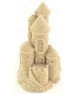 "Real Sand Castle Figurine Beach Lake Home Decor Wedding 408 4.75"" Tall - $18.99"